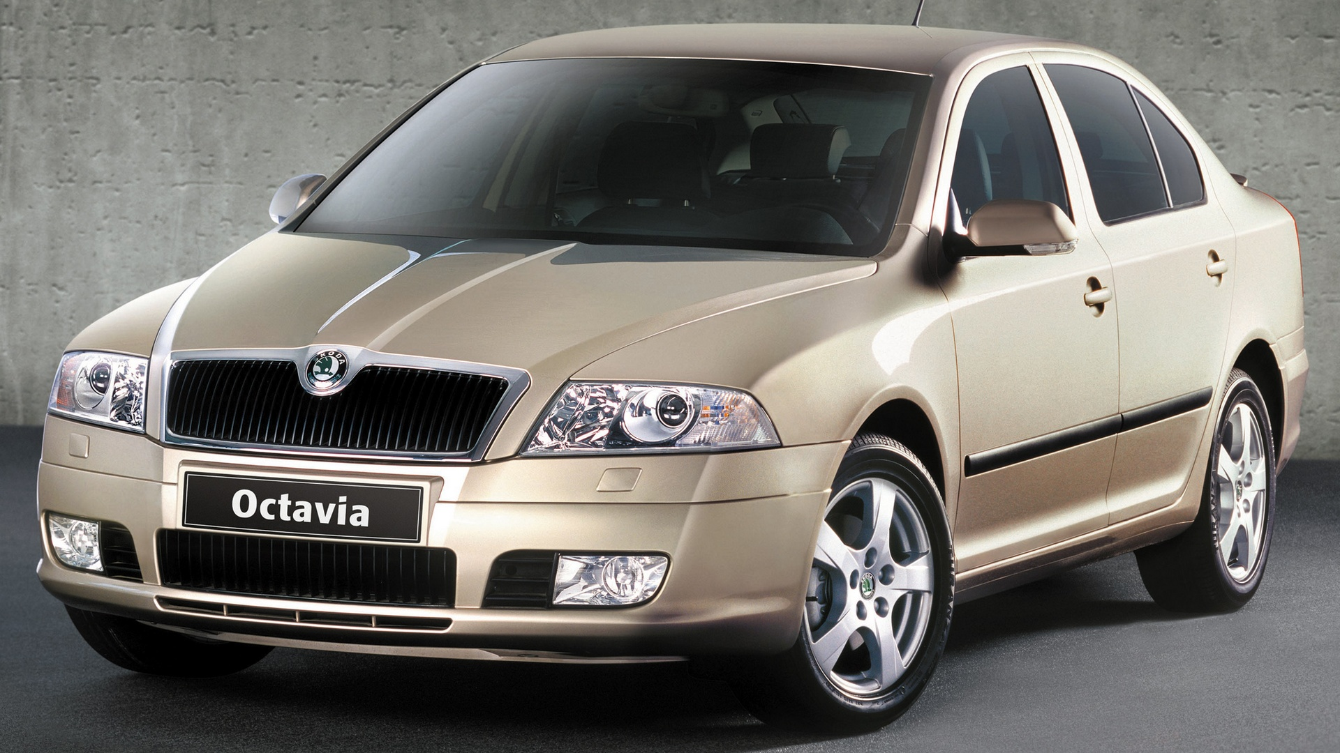skoda octavia ii sedan 2004 08. Black Bedroom Furniture Sets. Home Design Ideas