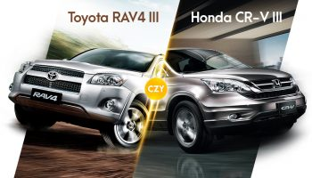 Toyota RAV4 III czy Honda CR-V III