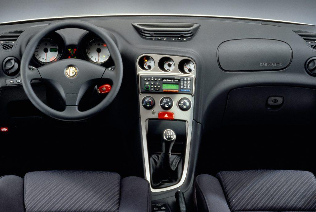 Alfa Romeo 156 Wnętrze przed liftingiem (1997-2003)