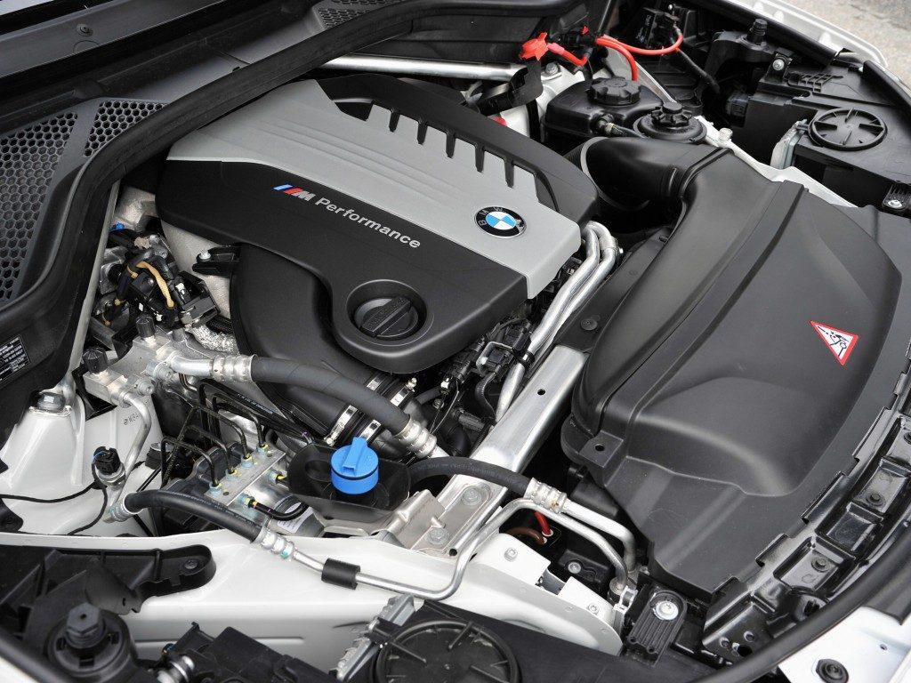 BMW X5 F15 Silnik wersji M50d (2013-)