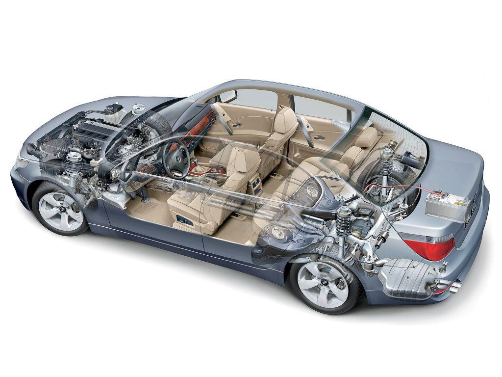 BMW Serii 5 E60 (2003-2009)