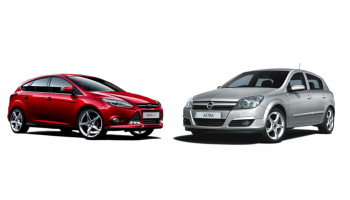Opel Astra III vs Ford Focus MKII