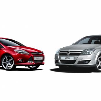 Opel Astra III vs Ford Focus MKII