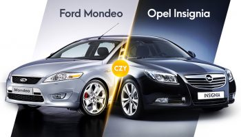Ford Mondeo Mk4 czy Opel Insignia I
