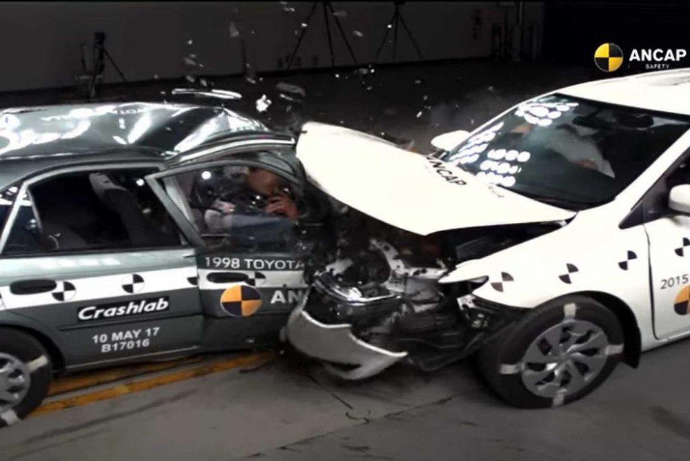 Toyota Corolla crash-test (fot. ANCAP)