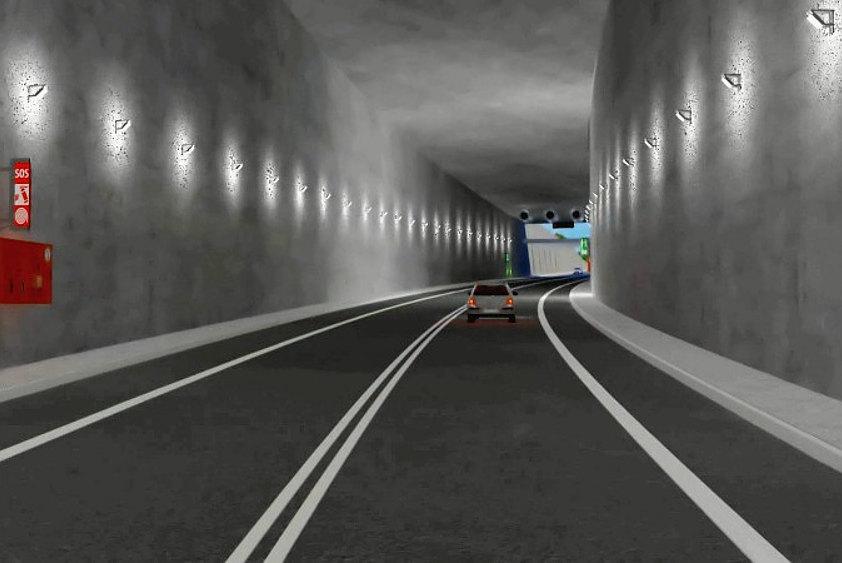 Tunel w Świnoujściu (fot. GDDKiA)