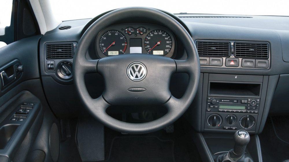 Volkswagen Golf IV Wnętrze (1997-2003)