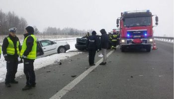wypadek (fot. KGP)