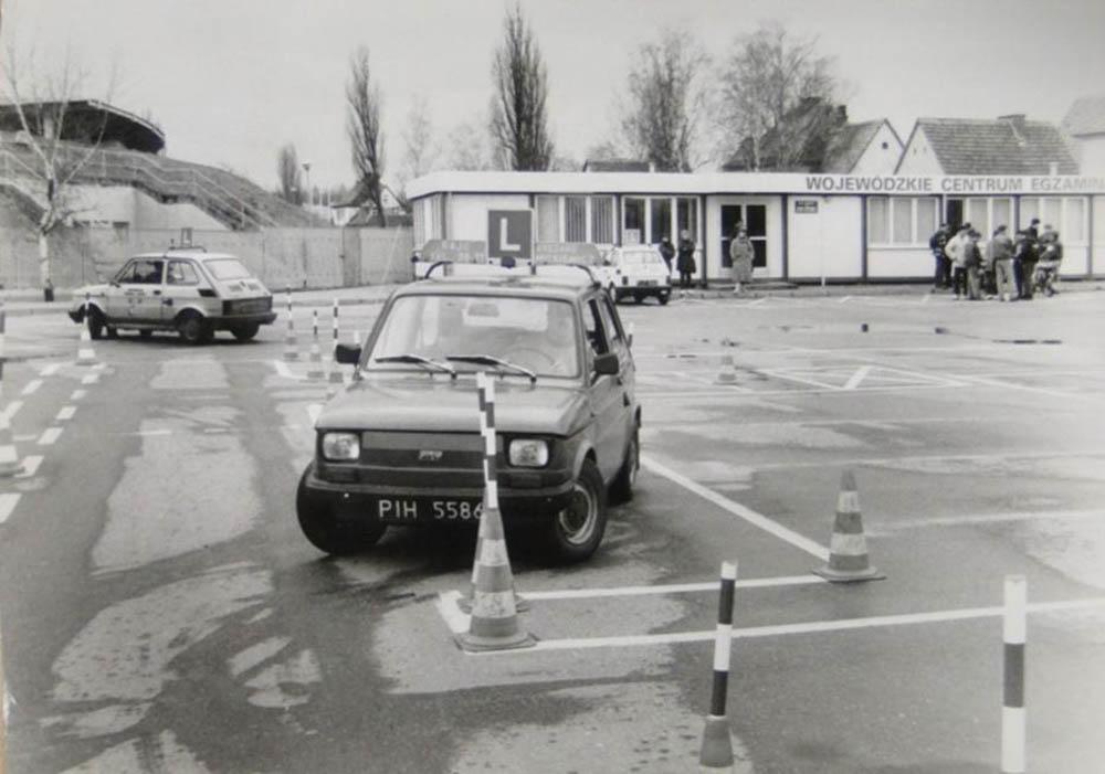 egzamin na prawo jazdy, Fiat 126p, Maluch