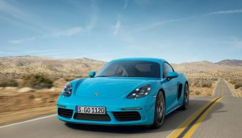 Porsche 718 Cayman (fot. Porsche)