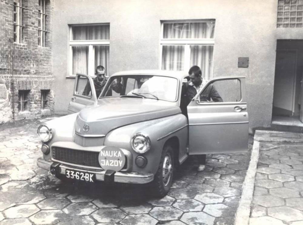 egzamin na prawo jazdy, FSO Warszawa, Warszawa, 1974