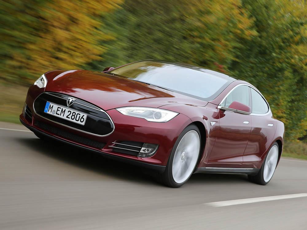 Tesla Model S, Tesla, Model S, samochód autonomiczny
