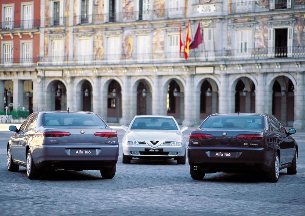 Alfa Romeo 166, Alfa Romeo, 166, Alfa 166