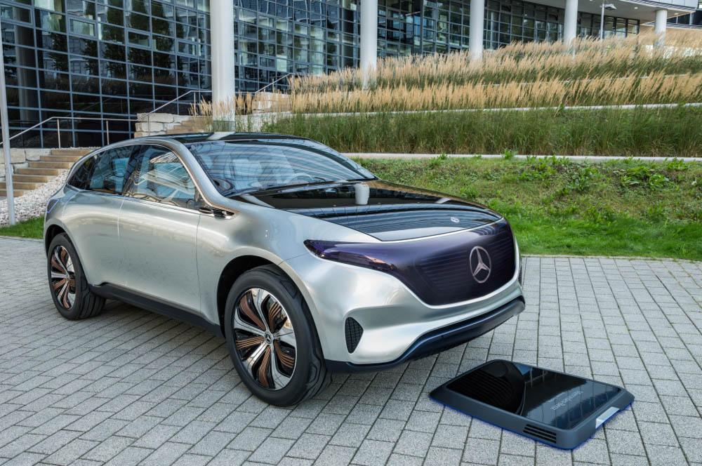 Mercedes EQ, mercedes, elektryczny mercedes, elektryczny SUV
