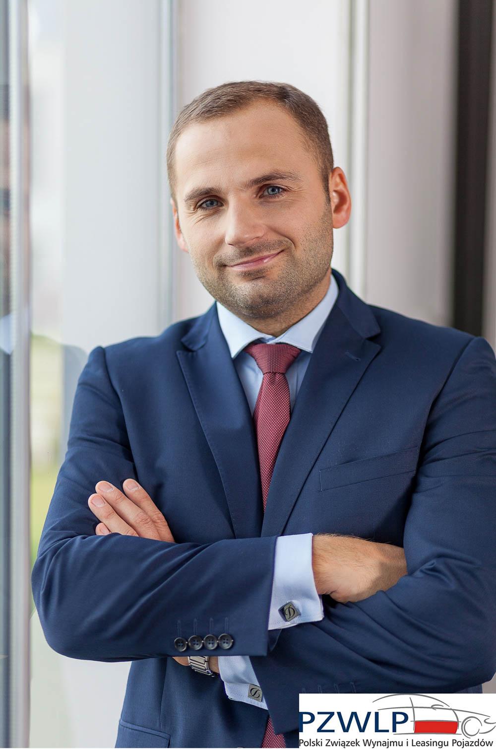 Daniel Trzaskowski, dyrektor sprzedaży flotowej Volkswagen Leasing, członek zarządu PZWLP