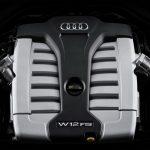 Audi A8 L W12 2014 - 2017 Silnik