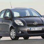 Toyota Yaris Facelifting 2009 - 2011