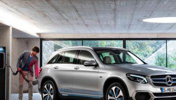elektryczne Mercedesy
