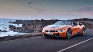 premiera BMW i8 Roadster