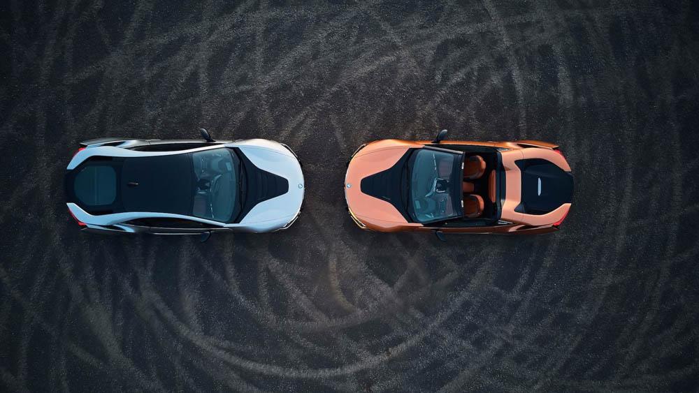 BMW i8 Roadster, BMW i8