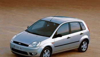 Ford Fiesta MK6 2002 – 2005 5 drzwi 7