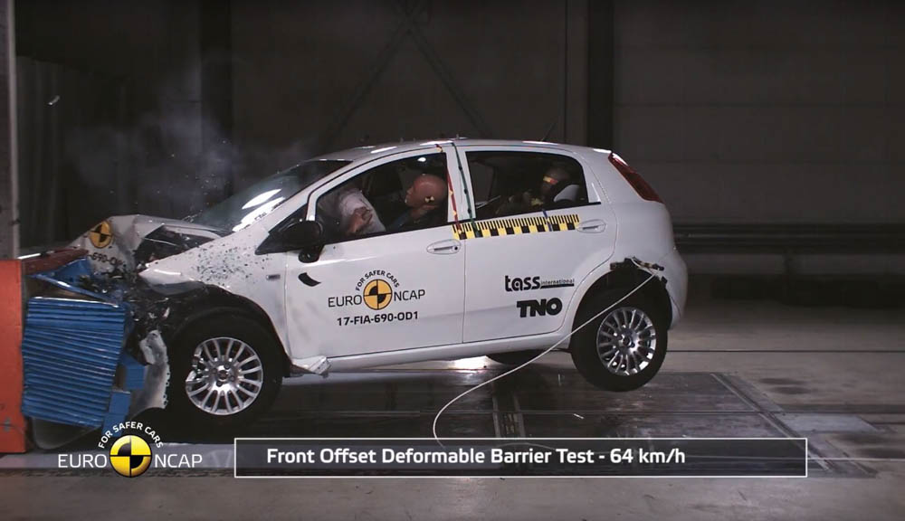 Fiat Punto, Punto, Euro NCAP