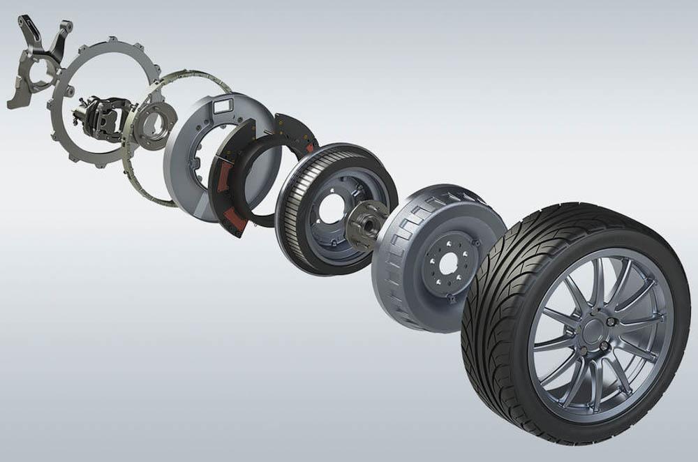 silnik elektryczny Protean Drive, silnik elektryczny, silnik elektryczny ukryty w kole