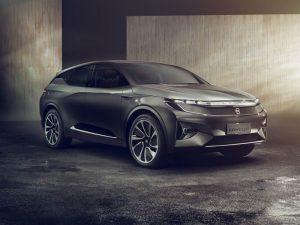 chiński samochód elektryczny Byton