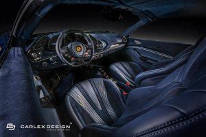 Ferrari 488 Spider, Ferrari 488, Carlex Design, tuning