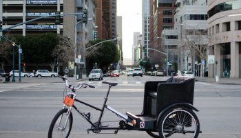 wózek rowerowy