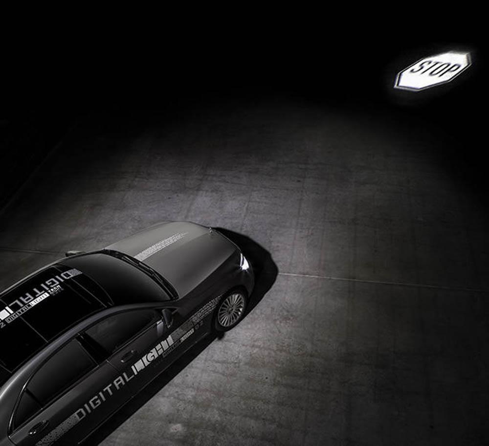 Mercedes digital lights, mercedes klasy s, mercedes maybach, mercedes, digital lights