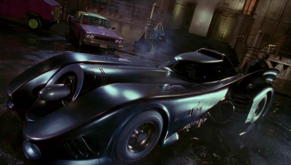 batmobil, batman, 1989