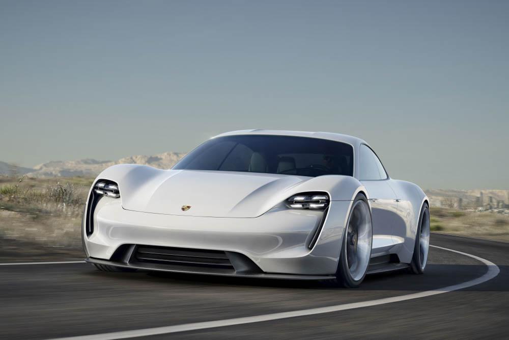 Porsche mission e, porsche, mission e