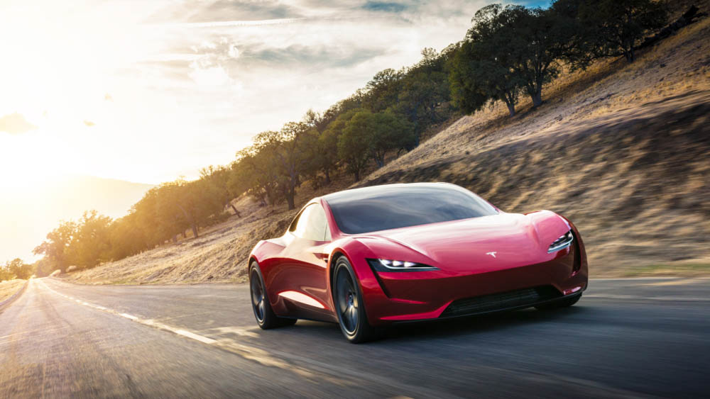 Tesla Roadster, Tesla, Roadster