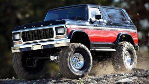 Ford Bronco off-road, traxxas