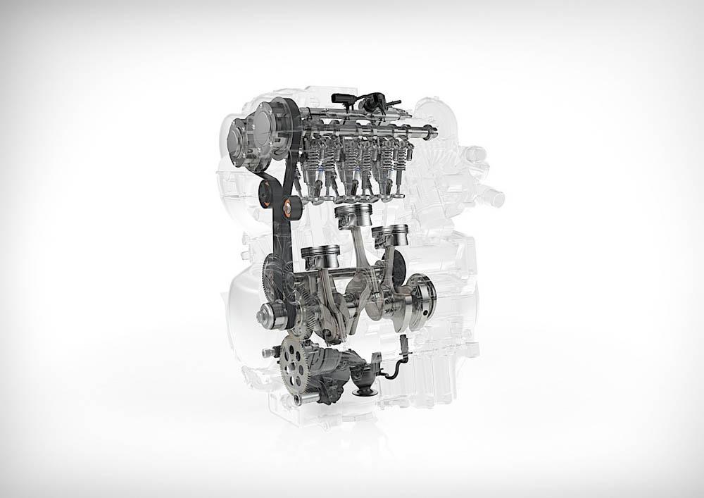 r3 volvo, 3-cylindrowy silnik volvo, volvo, silnik benzynowy