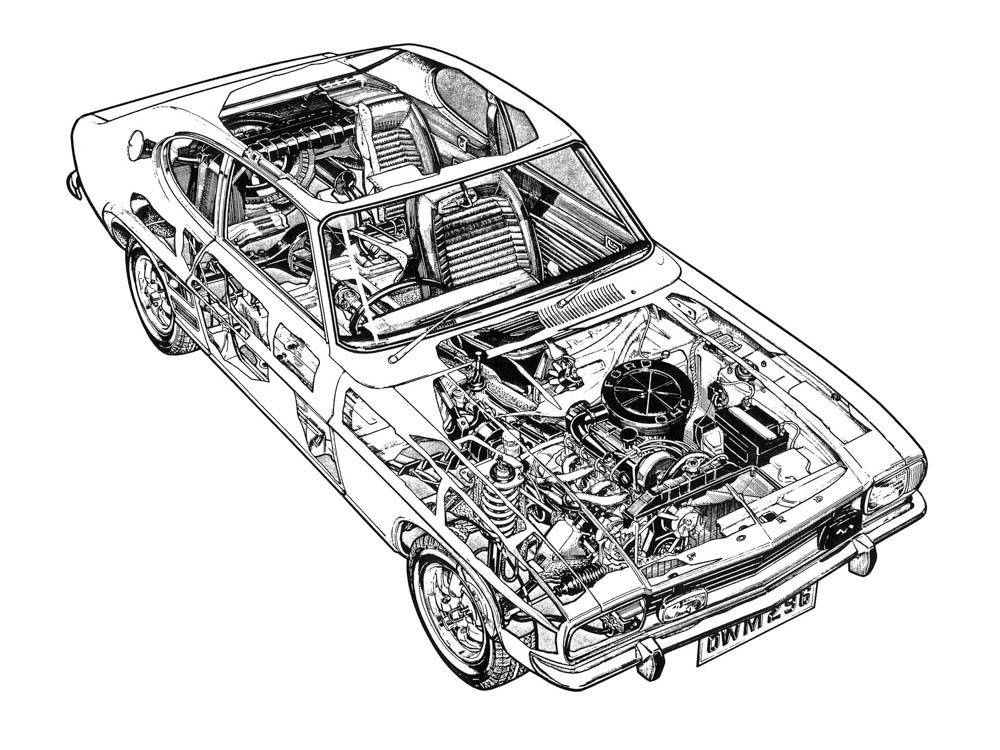 ford capri, capri, ford, capri mk1