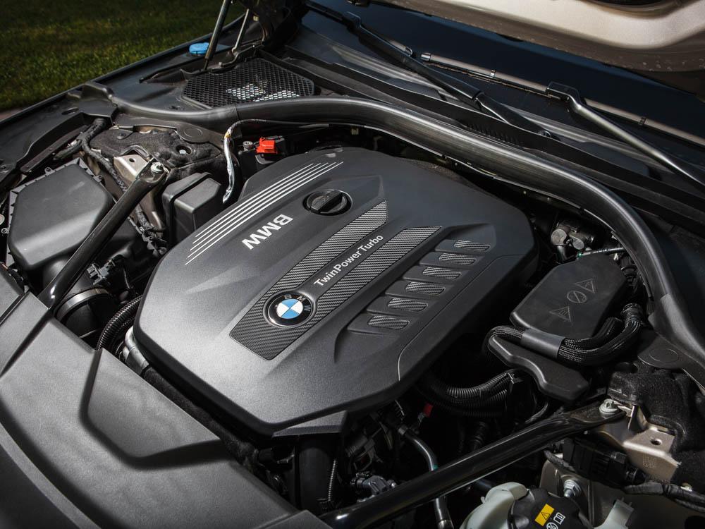 bmw, seria 7, bmw serii 7, diesel, silnik diesla