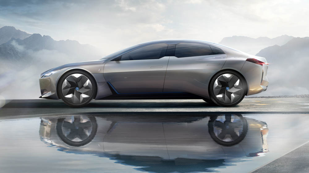 elektryczne BMW i4, bmw i4, bmw, i4, samochód elektryczny bmw