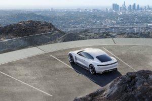 Porsche Mission E, porsche, mission e, samochód elektryczny porsche, elektryczne 911