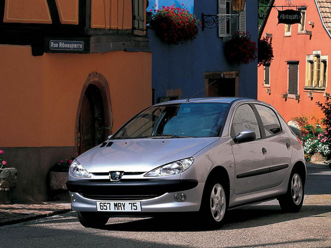 Używane samochody do 5 tys, peugeot 206